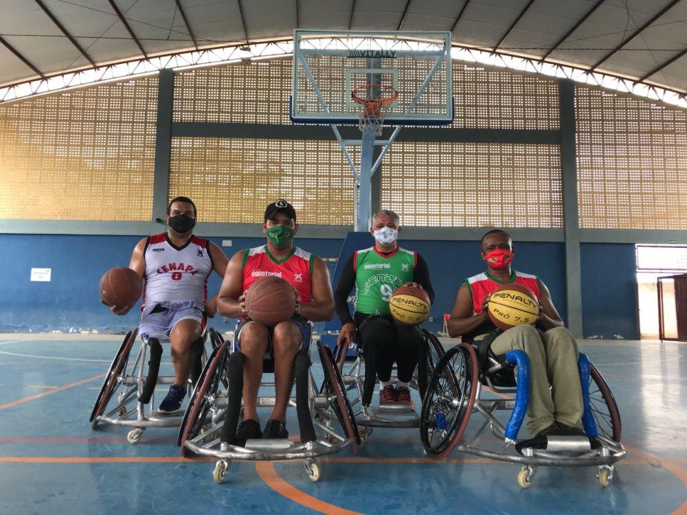 O time representa o Centro de Assistência Profissionalizante ao Amputado e Deficiente Físico de Imperatriz (Foto: Divulgação)