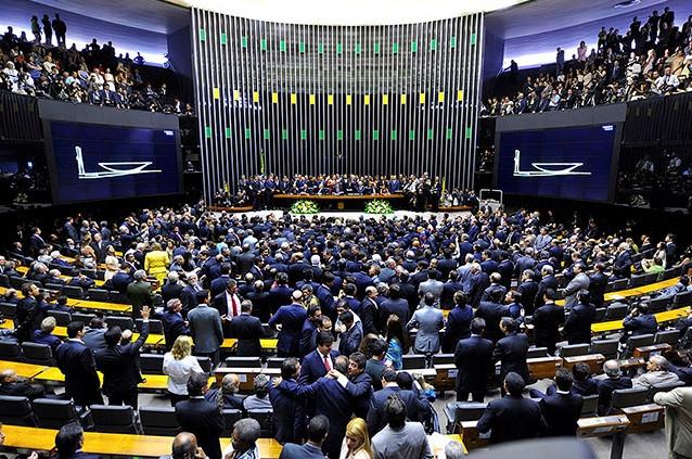 Câmara dos Deputados terá 243 novos parlamentares em 2019. (Foto: Reprodução)