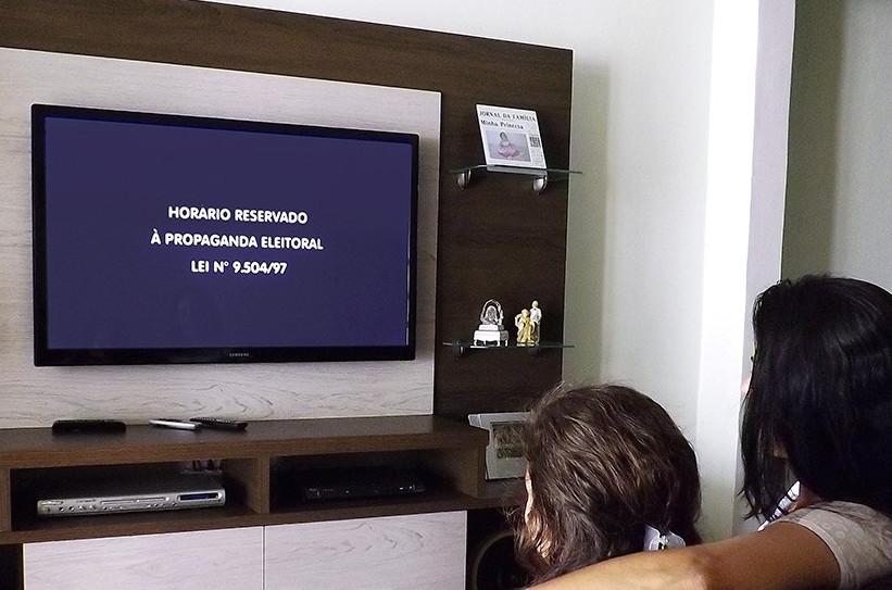 Propaganda eleitoral na TV teve duração reduzida para 35 dias nestas eleições. (Foto: (Foto: Lindomar Cruz/Agência Senado))