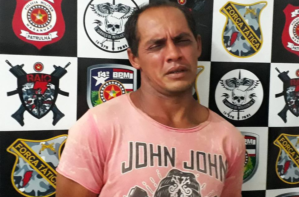 Raimundo Nonato da Conceição Oliveira já tinha sido preso por furto. (Foto: Antonio Pinheiro)
