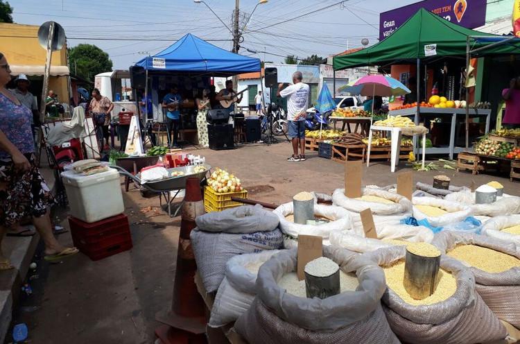 O projeto tem o objetivo de promover ações culturais em locais tracionais de feira em Imperatriz. (Foto: Divulgação)