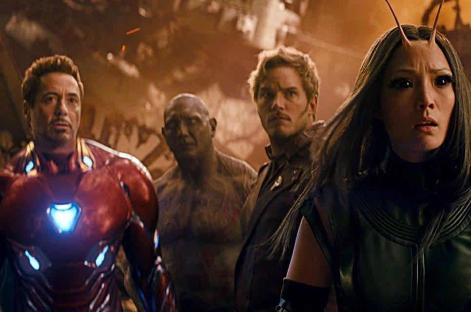 Guardiões da Galáxia e Vingadores juntos no último filme do grupo de heróis (Foto: Divulgação)