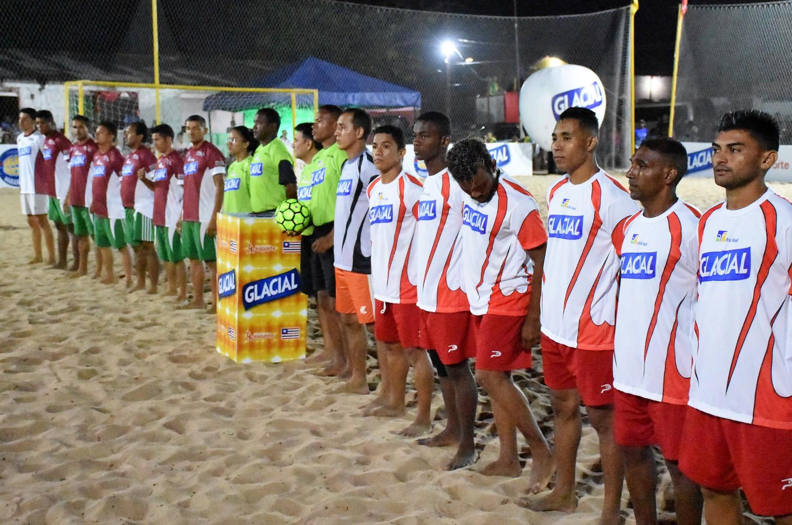 Segunda etapa do Maranhense de Beach Socer começa nesta terça. (Foto: Paulo de Tarso Jr.)