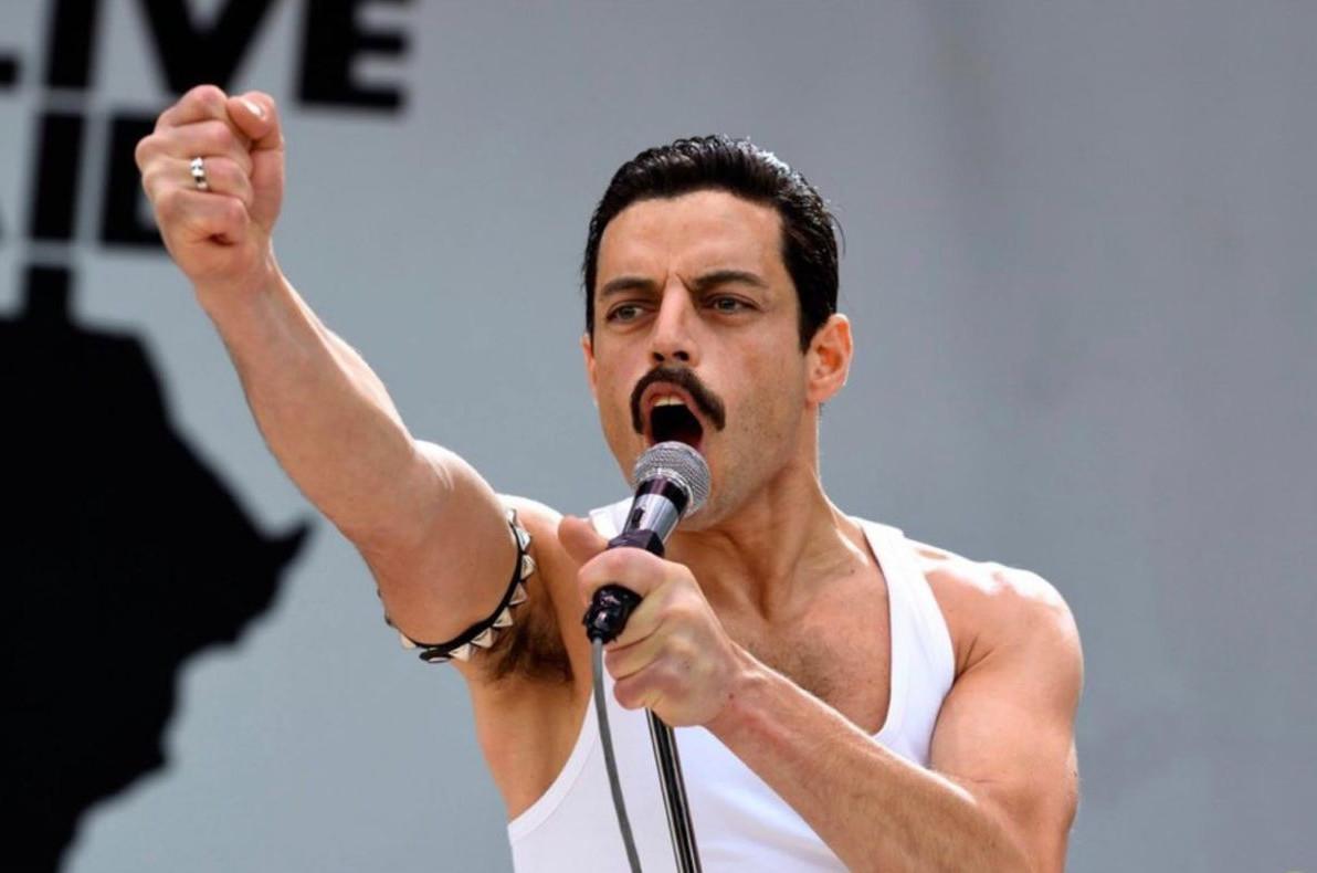 Bohemian Rhapsodyse tornou a segunda melhor estreia de uma cinebiografia musical. (Foto: Divulgação)