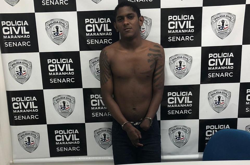 Donilson Santos Nunes, preso com 26 invólucros de maconha. (Foto: Divulgação)