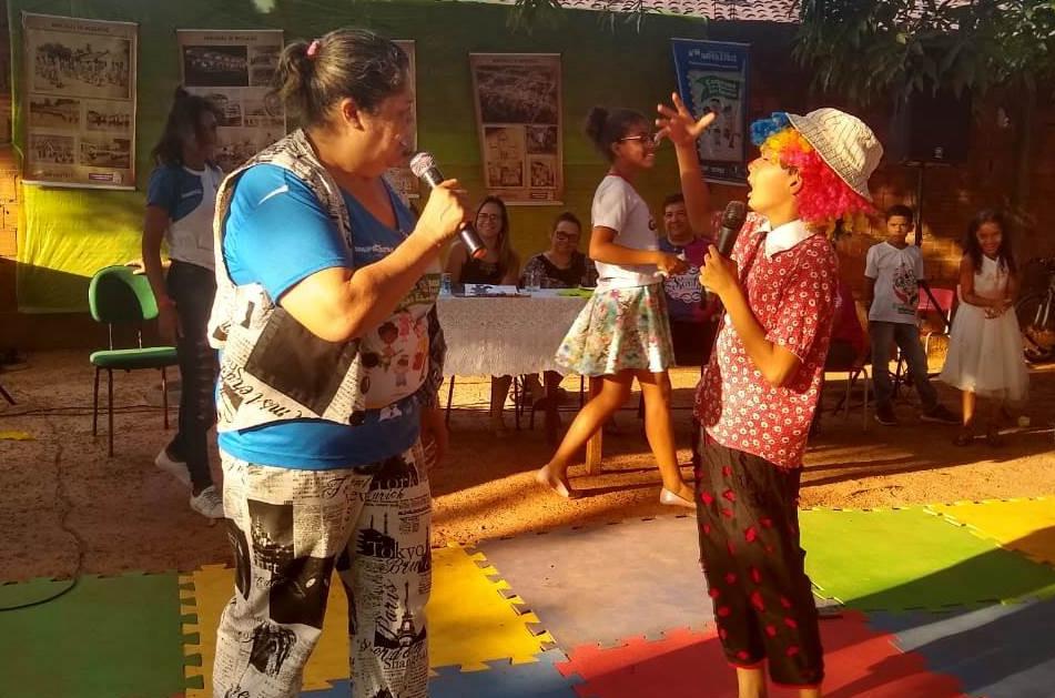 Evento oportuniza estudantes a apresentarem seus talentos. (Foto: Reginaldo Brito)