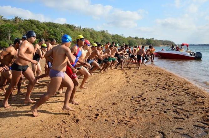 Travessia do Rio Tocantins é a última modalidade dos Jogos na Areia deste ano. (Foto: Divulgação)