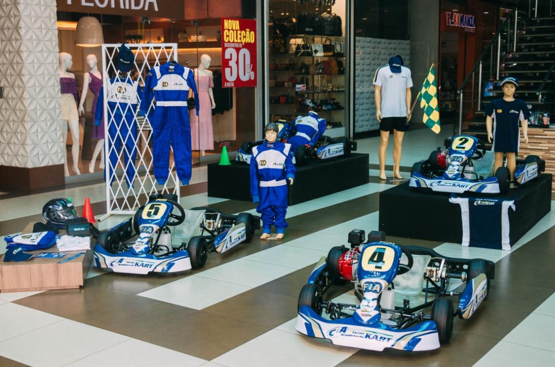 Play Kart de Imperatriz onde os praticantes do esporte realizam treinamentos. (Foto: Assessoria)