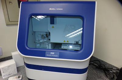 Moderno Equipamento adquirido pelo governo do estado para separar, analisar e visualizar material de DNA coletado. (Foto: (Foto: Divulgação))