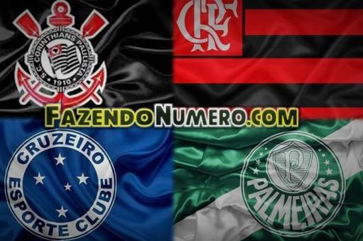 Quatro gigantes do futebol do Brasileiro continuam na briga pelo título da Copa do Brasil. (Foto: Divulgação)