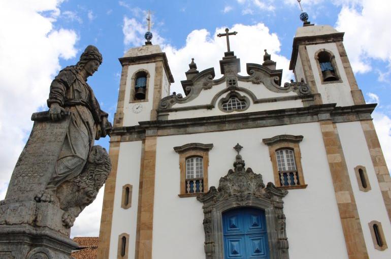 As construções do período colonial brasileiro se encontram fechadas atualmente e sob risco de ruir (Foto: )