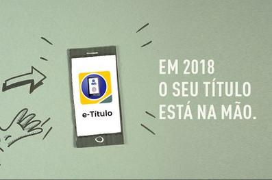 Campanha do TSE lembra o aplicativo e-Título como ferramenta prática ao eleitor. (Foto: (Foto: TSE))