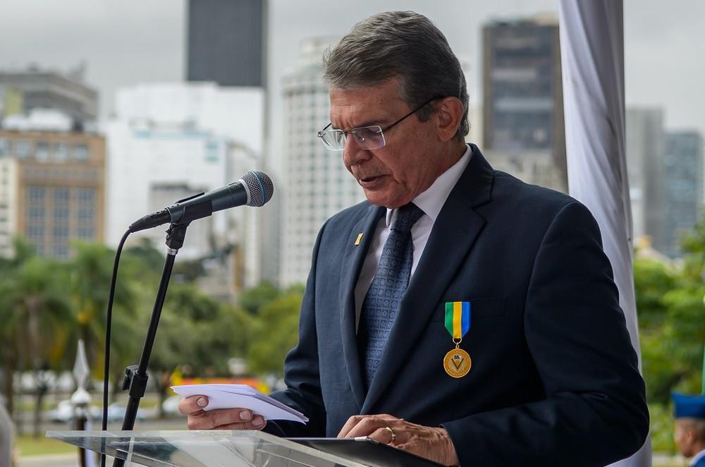 O ministro da Defesa, Joaquim Silva e Luna. (Foto: Alexandre Manfrim/Ministério da Defesa)