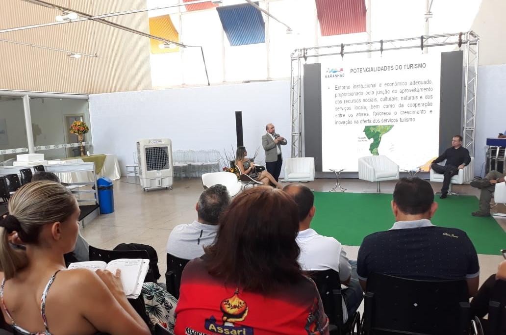 O evento aconteceu durante programação da 18º Fecoimp. (Foto: Hyana Reis)