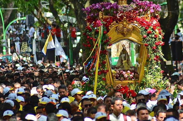 O Círio de Nazaré é uma manifestação religiosa cristã em devoção a Nossa Senhora de Nazaré (Foto: (Foto: Reprodução))