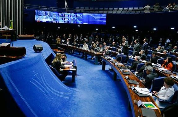 'Esforço concentrado' tem objetivo de acelerar demandas de votação no Senado. (Foto: (Foto: Roque de Sá / Agência Senado))