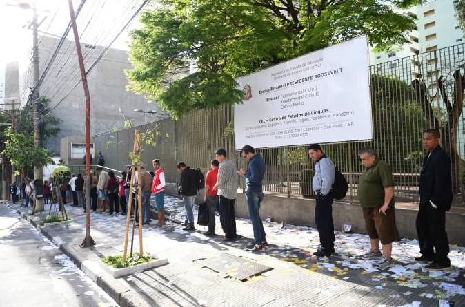 O primeiro turno das eleições 2018 será no dia 07 de outubro. (Foto: (Foto: Ricardo Matsukava/VEJA))