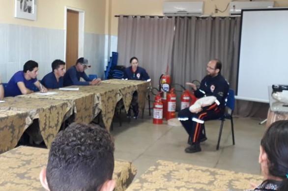 Curso foi oferecido aos funcionários de uma empresa privada. (Foto: (Foto: blog do Pedro Jorge))