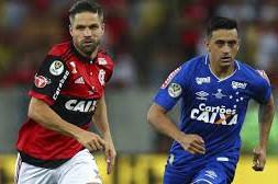 No primeiro jogo, Cruzeiro venceu o Flamengo por 2 x 0, no Maracanã. (Foto: Carloto Junior)