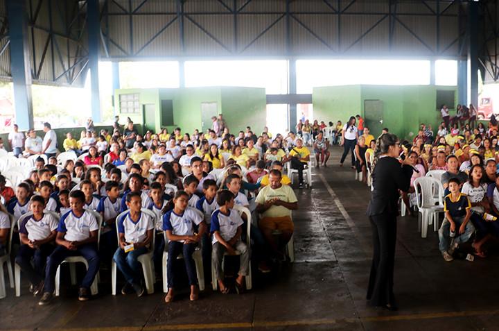 À noite será realizada o encerramento no câmpus da Unitins em Augustinópolis. (Foto: Paulo Palmares/VB)