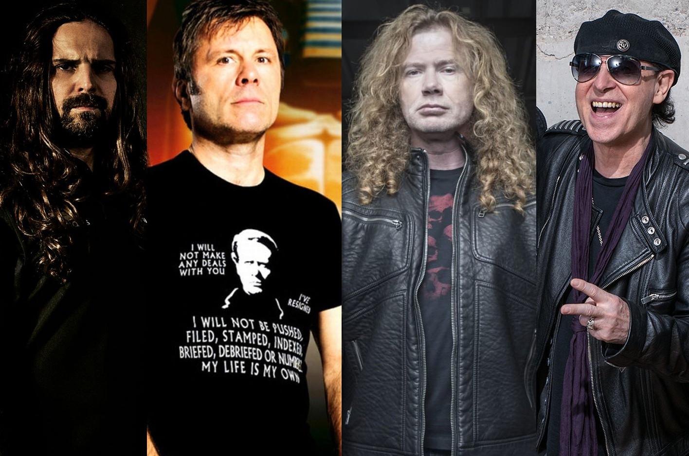 Sepultura, Iron Maiden, Megadeth e Scorpions estão na programação do dia do metal do Rock in Rio. (Foto: Divulgação)