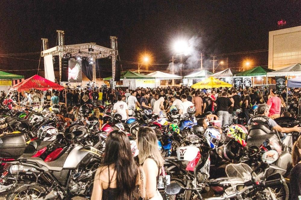 O Motoimp já se consagrou como omaior encontro de motociclistas do Maranhão (Foto: Reprodução)