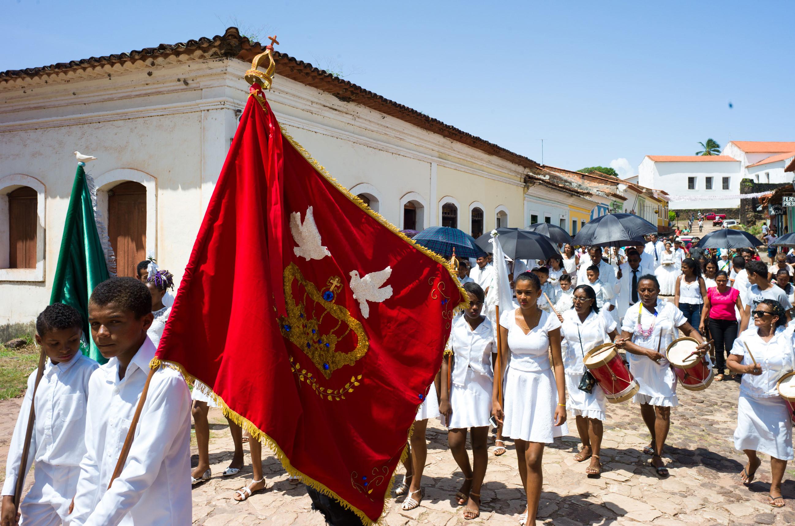 Alcântara vem recebendo o festejo religioso (Foto: Reprodução)