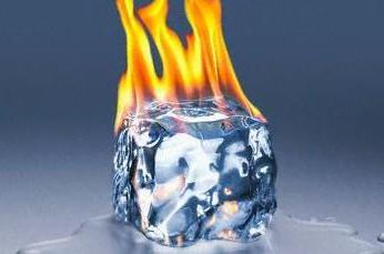 Pegando fogo (Foto: Reprodução)