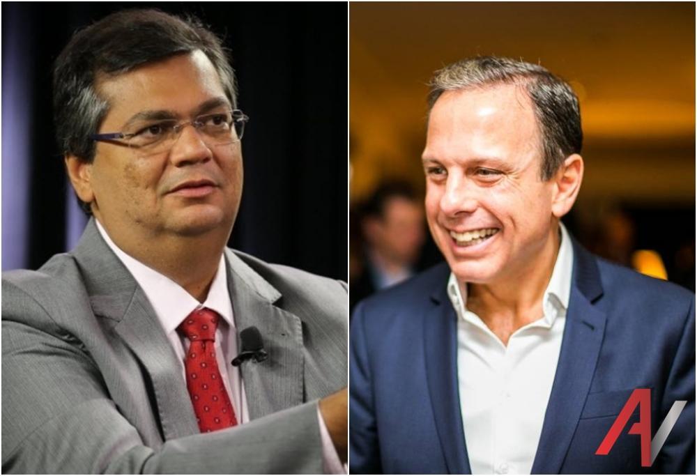 Flávio Dino e João Dória