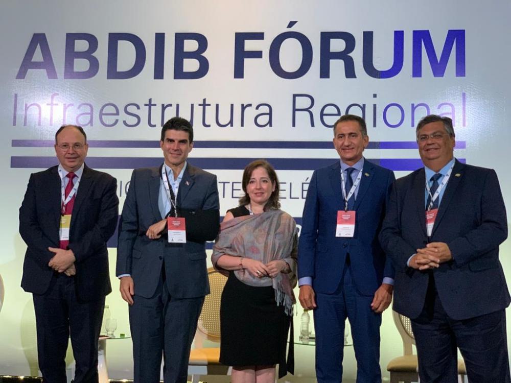 Flávio Dino no Abdib Fórum Infraestrutura Regional – Edição Norte
