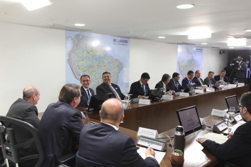 O governador Flávio Dino encaminhou 'Pacto Nacional pelo Emprego'.