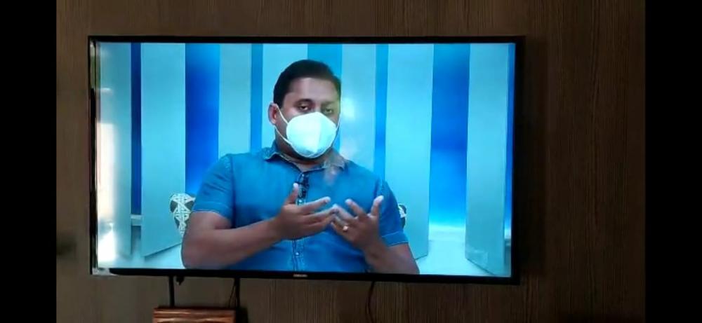 Senador Weverton (PDT) concede entrevista na TV Difusora