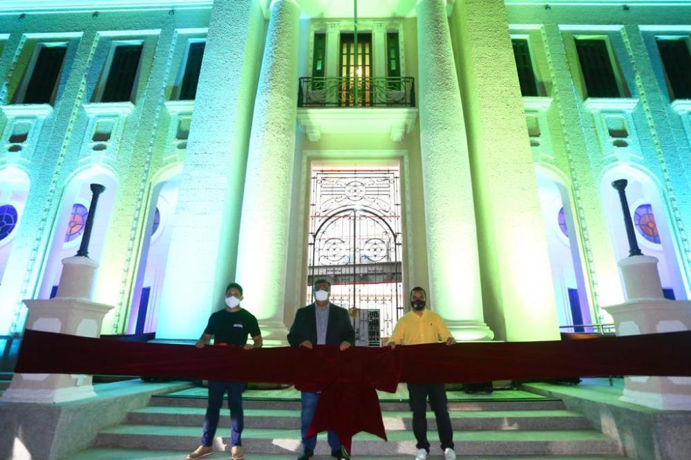 Governador entrega restauração da Reffsa, novo espaço cultural em São Luís