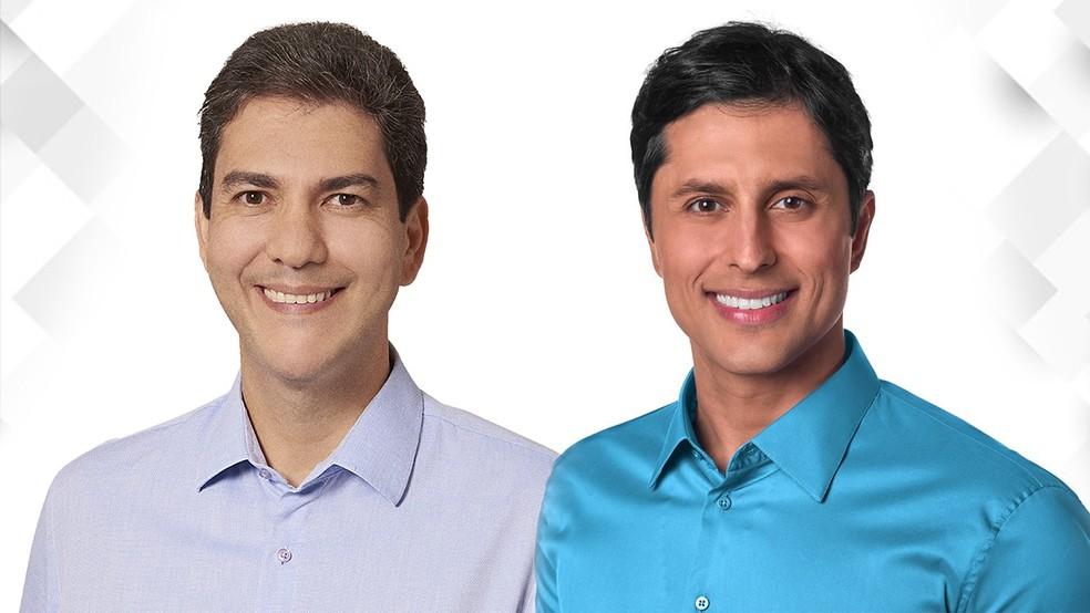 Eduardo Braide e Duarte Jr foram ao 2º turno na disputa pela capital maranhense (foto: G1)