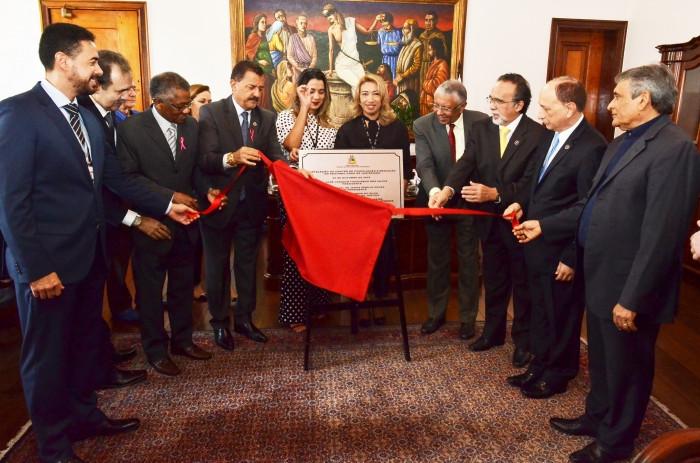 Centro de Conciliação de 2º Grau é o primeiro a ser instalado no prédio sede do TJMA. (Foto: Ascom)