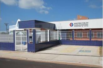 Sede da Promotoria de Justiça do Paço do Lumiar. (Foto: Reprodução)